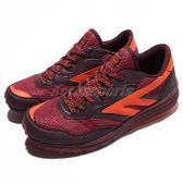HI-TEC Badwater 巴德沃特 山林系 酒紅 橘 戶外鞋 運動鞋 女鞋 【PUMP306】 O006099100
