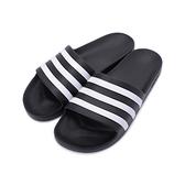 ADIDAS ADILETTE AQUA 運動拖鞋 黑白 F35543 女鞋 鞋全家福