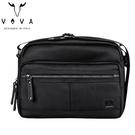 【橘子包包館】VOVA 天際系列休閒斜背包/側背包 VA117S02BK 城市黑