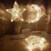 LED裝飾燈彩燈少女心布置房間臥室浪漫裝飾星星燈 BF3535【旅行者】