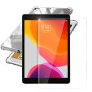 AISURE for 2020 iPad 10.2吋 四角防摔空壓殼+9H鋼化玻璃貼組合