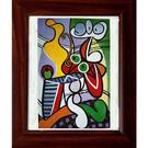 picasso畢卡索的抽象畫---【異想...