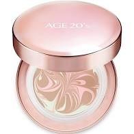【AGE20's】 光感璀璨爆水粉餅 一盒二蕊 SPF50+/ PA++++ 21亮白色 效期2023.07【淨妍美肌】