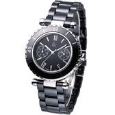 Gc  Guess Collection 經典陶瓷時尚腕錶 GX35003L2S 黑