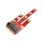 Awesome 和順電通 AWD-DT-134B M.2 B Key (USB2.0、PCIe x1、SATA) 轉 mPCIe 轉接卡