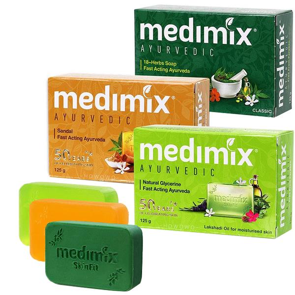 印度 MEDIMIX 香皂 皇室藥草浴 美肌皂 125g 檀香/草本/寶貝 肥皂 0249 好娃娃