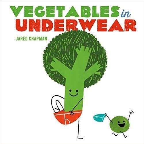 【幽默繪本】VEGETABLES IN UNDERWEAR /英文繪本《主題:內褲.幽默.戒尿布》