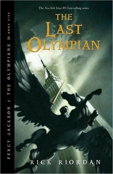 Percy Jackson Book 5: Last Olympian