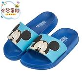 《布布童鞋》Disney迪士尼經典米奇藍色兒童拖鞋(17~22公分) [ Y0P980B ]
