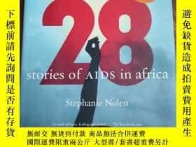 二手書博民逛書店28罕見Stories of AIDS in AfricaY12
