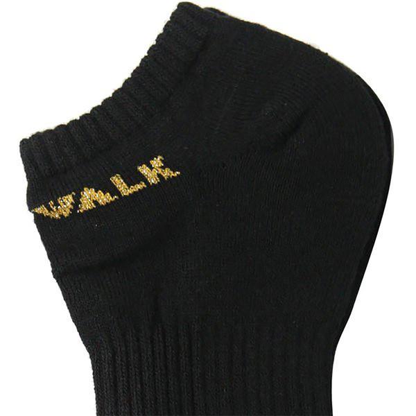 AIR WALK 襪子 短襪 踝襪 腳踝 黑 / 金蔥 (單入)【運動世界】A111350120 / A111350420