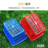 超市購物籃大號金屬手柄購物筐手提塑料金屬提籃子超市籃子加大框xy2456『東京潮流』