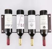 時尚創意歐式疊加紅酒架擺件酒瓶架酒柜葡萄酒展示架子鐵藝酒架子