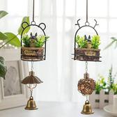 新年鉅惠創意夜燈風鈴日式可愛女生房間臥室門鈴鐺掛飾件小清新禮物