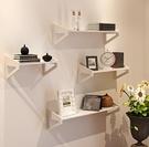 裝飾架 墻上置物架免打孔臥室裝飾簡易花架...