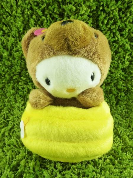 【震撼精品百貨】Hello Kitty 凱蒂貓~KITTY變裝絨毛娃娃-熊