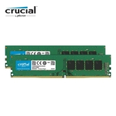 Micron Crucial 美光 DDR4 3200 16GB 16G (8G2) 雙通道 RAM (原生3200顆粒) 桌上型記憶體