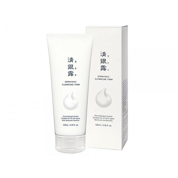 韓國 清銀露 超濃密泡泡洗面乳(120ml)【小三美日】