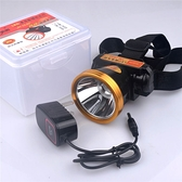 LED高亮強光遠射鋰電可充電頭燈 戶外頭戴夜騎釣魚夜釣礦燈手電筒 快速出貨