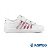 K-SWISS Hoke III Strap SE CMF 時尚運動鞋-女-白/桃紅