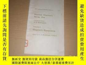 二手書博民逛書店(英文版)Magnetic罕見Resonance磁共振 (詳情請