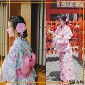 日本和服女式長款浴袍浴衣套裝cos 叮噹百貨