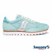 SAUCONY JAZZ LOWPRO 經典復古女鞋-冰霧藍x太空銀