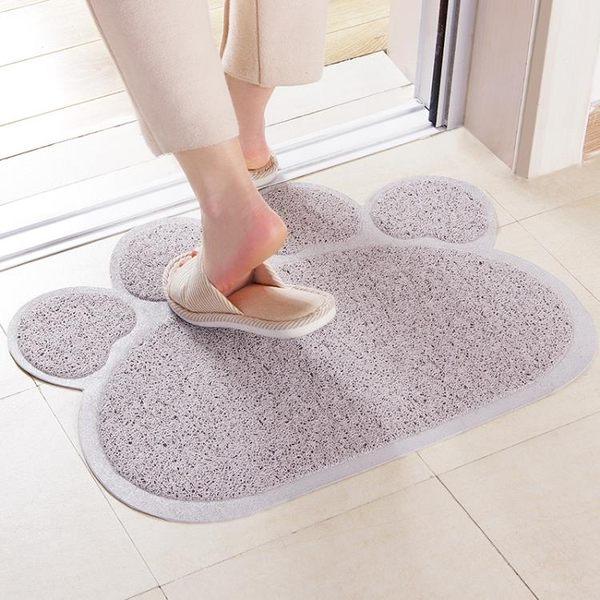 腳墊 北歐風家用門墊 PVC絲圈臥室地毯腳踏墊防滑墊 廚房浴室防滑地墊   傑克型男館