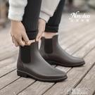 日式雨鞋男士短筒防滑防水鞋雨靴夏季潮低幫...