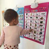 圖片識字卡識字小孩音樂女童觸摸字掛圖貼圖全套象形字認字英 七色堇