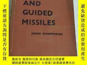 二手書博民逛書店rockets罕見and guided missiles【有破損