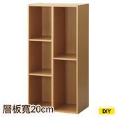 【DIY】彩色櫃45 COLOBO 45-3SH-NA 五格櫃 NITORI宜得利家居