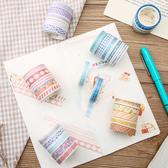 【BlueCat】釀春系列和紙膠帶 手帳貼紙 (5入裝)