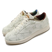 Reebok 休閒鞋 KUNG FU PANDA X Club C 85 米白 棕 男鞋 女鞋 功夫熊貓 運動鞋 【ACS】 GZ8633