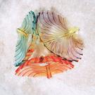 水晶水果盤客廳歐式創意時尚家用茶幾個性塑膠可愛辦公瓜子乾果盤