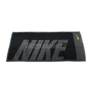 Nike 毛巾 Jacquard Towel 運動 黑 灰 Logo 棉【ACS】 NTT8106-3MD