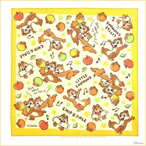 asdfkitty可愛家☆奇奇蒂蒂黃色星星桌墊/餐墊/桌巾/大手帕-43*43公分-防止兒童弄髒桌子-日本正版