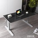 手動升降桌站立式辦公桌電腦辦工桌子電動寫...