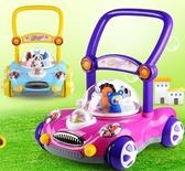 *幼之圓*多功能動物家族音樂學步手推車~寶寶學步車/助步車~有趣實用又安全喔~