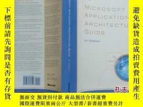 二手書博民逛書店Microsoft罕見Application Architect