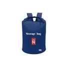 【台灣北緯23度】防水背包袋(藍/紅)