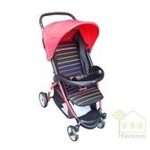 [ 家事達 ]Mother's love- N200 嬰兒手推車-桃紅色 特價 可坐、臥、躺