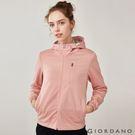 【GIORDANO】女裝搖粒絨拼接防風外套-07 花紗薄紗粉紅