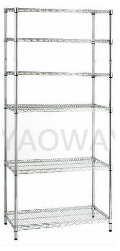 【耀偉】35X90X160(6F)六層經濟型鐵架◎鍍鉻架/鐵架/收納架/DIY架