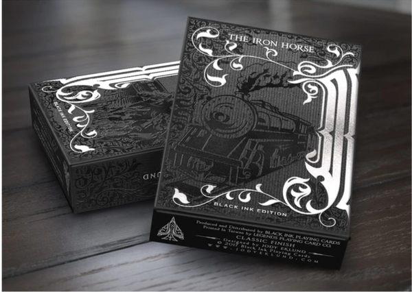 【USPCC撲克】IRON HORSE BLACK INK EDITION