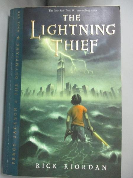 【書寶二手書T8/原文小說_FVE】The Lightning Thief_Riordan