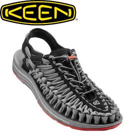【KEEN 美國 男款 涼鞋〈黑/深灰〉】1016899/編織涼鞋/涼鞋/休閒涼鞋★滿額送