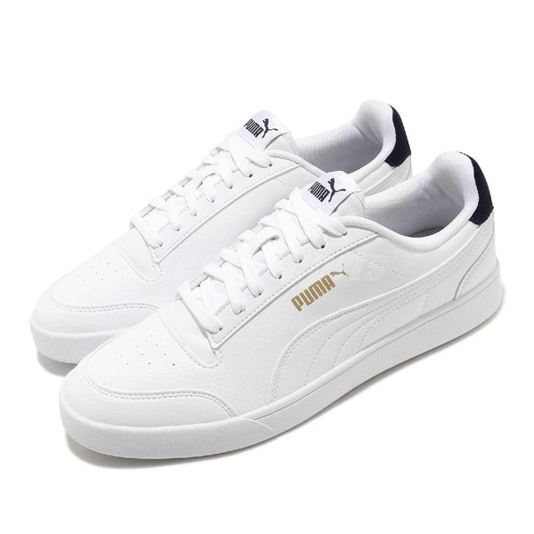 Puma 休閒鞋 Shuffle 白 黑 金標 男鞋 女鞋 基本款 運動鞋 【ACS】 30966801