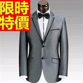 西裝套裝 包含西裝外套+褲子 男西服-上班族制服經典款非凡紳士走秀款4色54o42【巴黎精品】