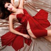 性感透視三點式情趣內衣服血滴子激情極度套裝夜火sm騷制服用品女【PINKQ】